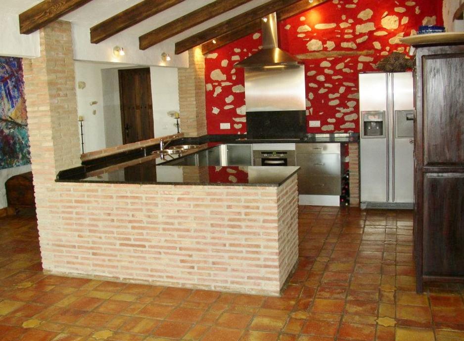 Galer a de fotos casa rural en grazalema huerta la terrona - Cocina casa rural ...